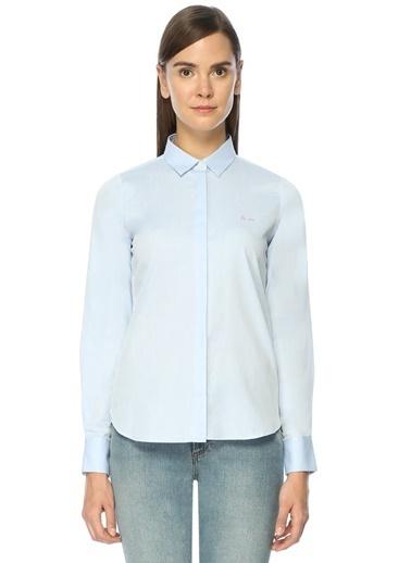 İngiliz Yaka Uzun Kollu Gömlek-Maison